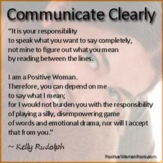 Communication – Clarity And Personal Boundaries Are Key For Positive Women | PositiveWomenBLOG.com
