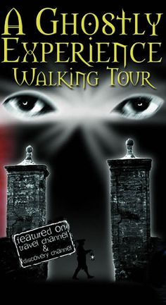 A Ghostly Experience Walking Tour - Ghost Tours of St. Augustine- maybe