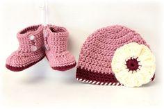 Lo vimos en Etsy: zapatitos de crochet para bebés