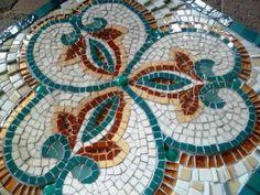mosaic mural - pool wall - OzMosaics Mosaic Art and Craft Australia