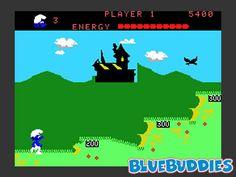 ColecoVision Smurf Rescue In Gargamel Castle