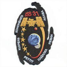 Collectibles Nasa Astronaut J Voss Expedition-2 Authentic Spacesuit Patch Nametag Fancy Colours Astronauts & Space Travel