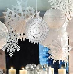 #winter #party #decorations http://www.thepartywareshop.com/christmas-parties-1232-c.asp More