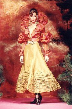Christian Lacroix Haute Couture Fall-Winter 1991   Christian Lacroix   Flickr