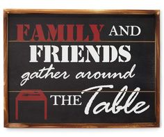 Farmhouse Fresh Family and Friends Wall Plaque at Big Lots.