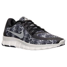 release date 3076f 489be Women s Nike Free 5.0 V4 Print Running Shoes - 695168 004   Finish Line  Running Sneakers