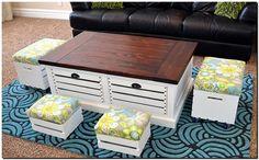fruit crates furniture plan
