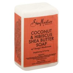 SheaMoisture Coconut & Hibiscus Brightening Face & Body Bar - 8 oz : Target