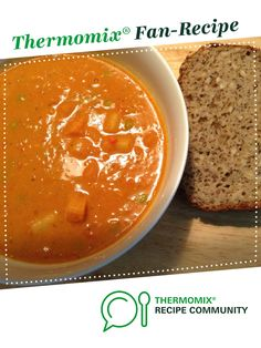 Recipe African Peanut Soup by sharynlee, learn to make this recipe easily in your kitchen machine and discover other Thermomix recipes in Soups. Thermomix Soup, Coriander Seeds, Recipe Community, Food N, Coconut Cream, Sweet Potato, Soup Recipes, Soups, Peanut Butter