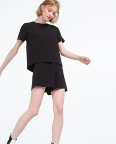 Image 3 of SHORT JUMPSUIT from Zara