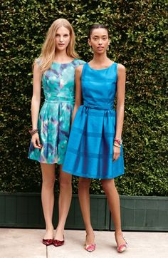 "Be the ""something blue"" at the wedding in these dresses."