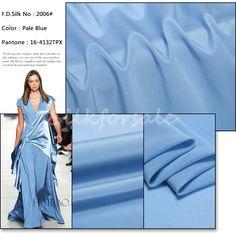 http://www.silkfabricwholesale.com/14mm-silk-crepe-de-chine-fabric-pale-bule.html      F.D. silk most professional 14mm silk crepe de chine fabric-pale blue supplier.