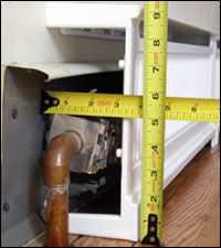 Overboards: Measuring and Installing, Aluminum baseboard covers