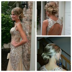 AMAZING BRIDE!! Prom Hair by Dina/Makeup by Renee