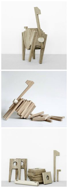 Polygrif by Moebe.  . How fun would this be to make for the kids and to give as gifts
