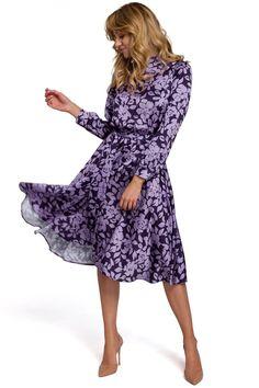 Ένας χώρος με ιδιαίτερα γυναικεία ρούχα και αξεσουάρ , με υψηλή ποιότητα και προσιτές τιμές. Έχουμε τα πιο στιλάτα είδη μόδας, μην ψάχνετε πουθενά αλλού, το Blush Greece είναι το δικό σας προσωπικό κατάστημα. Mid Length Skirts, Minimal Classic, Stunning Dresses, Purple Dress, Day Dresses, Flare Dress, Floral Prints, Elegant, How To Wear