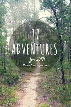 17 Adventures for 2017!  Check out these bucket list adventures, how many are on your list for this year? | Trail Running, Trail Racing, Traveling, Adventures