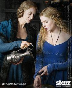 White Queen -- Elizabeth and her mother (on Starz)