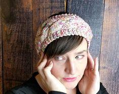 KNITTING PATTERN Knit Earwarmer Headband The Sèk | Etsy Heidi May, Velvet Acorn, Ear Warmer Headband, Twist Headband, Crochet Headband Pattern, Knitted Headband, Hand Knitting, Knitting Patterns, Crochet Patterns
