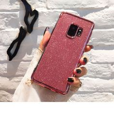 c5e8cd3b124 Promo Ollivan Luxury Glitter Silione Soft Case For Samsung Galaxy Note  Eight 9 S7 S8 S9