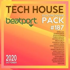 Beatport Tech House: Electro Sound Pack #187 (2020) Electro Music, Tech House, Musicals, Album, Musical Theatre, Card Book