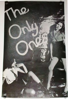 """THE ONLY ONES - maybe for """"Lovers of Today"""" 1977 Vengeance promo poster.. Gotta be before CBS/EPIC years. They started out in 1974-5 as ENGLAND'S GLORY - rules! Junk Shop Glam take on LOU REED & singer  PETER PERRETT's friend JOHNNY THUNDERS.. original version of """"City of Fun"""" & more out now on HOZAC.. w V.I.P.'s //SPOOKY TOOTH drummer & bass player for Scottish MOD band THE BEATSTALKERS! PETER PARRETT bio is a great read if you like """"Please Kill Me""""& Rock n' Roll excess in general."""