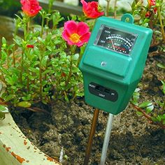 WinnerEco 3in1 Soil Moisture Sunlight PH Meter Tester Plant Digital Analyzers. The tool plant owners, gardeners can't live without!. 3 IN 1 soil moisture content, PH and illuminance metering. For outdoor, indoor plants, gardens, grass lawn. Take the guess work out of your daily garden watering light and moisture. Save water, energy and keep your plants, lawn and flower in top condition.