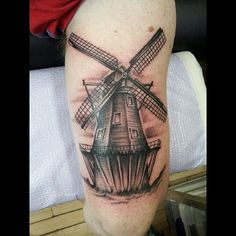 Windmill tattoo