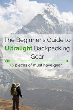 This is the list of backpacking gear I wish I had when I started hiking. I wasted so much money on bad gear only to find out later that I could have saved time and money by choosing the right gear from the beginning. Don't make the same mistake as me! Used Camping Gear, Camping Guide, Camping Checklist, Camping And Hiking, Hiking Gear, Camping Hacks, Hiking Tips, Family Camping, Outdoor Camping