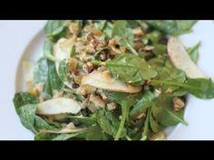 Coconut  Apple Salad : Salad Recipes - YouTube