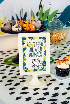 Project Nursery - Wild Animal Birthday Party Decor