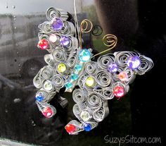 diy butterfly suncatcher, crafts, how to, outdoor living, repurposing upcycling
