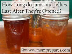 Open jelly & jam jars: How to use it all before it goes bad - photo by arolenrock - cover design by MP