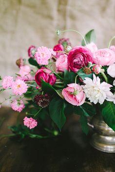 Ombre Flower Arrangement How-To