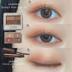 Orange Makeup, Pink Eye Makeup, Eye Makeup Art, Smokey Eye Makeup, Makeup Eyes, Korean Natural Makeup, Korean Eye Makeup, Asian Makeup, Eye Makeup Pictures