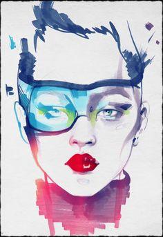 Sketch by Alina Grinpauka