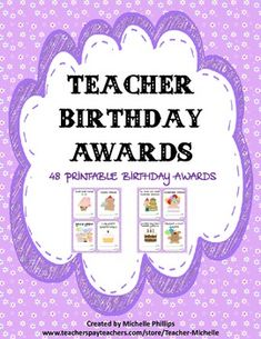 VERY CUTE PRINTABLE BIRTHDAY AWARDS! JUST PRINT THEM OUT AND SIGN. PLEASE LEAVE POSITIVE FEEDBACK IF YOU LIKE THE PRODUCT.