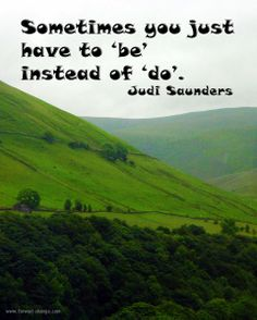 'Be' #inspired today.