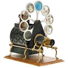 "539: Magic Lantern ""Pettibone: Sciopticon"", c. 1890"