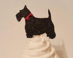Image result for black terrier cupcake topper