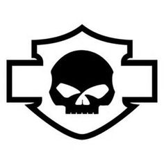 harley davidson logo clip art harley davidson logos firmenlogos rh pinterest com harley number one logo harley davidson number one logo