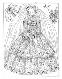 Victorian Brides by Charles Ventura * 1500 free paper dolls Arielle Gabriel's The International Paper Doll Society #QuanYin5 Twitter QuanYin5 Linked In *