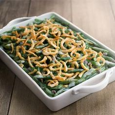 Check out this great recipe from French's: French's Green Bean Casserole!