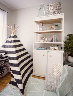 DIY a Changing Table into a great Bookcase - Project Nursery