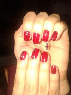 Sexy red nails