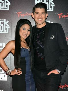 Jasmine Trias and Ben Stone on the red carpet of opening night of Raiding The Rock Vault at the New Tropicana Hotel and Casino in Las Vegas Jasmine_Trias_Ben_Stone_Rock_Vault_Trop_62044.JPG (JPEG Image, 1000 × 1333 pixels) - Scaled (69%)