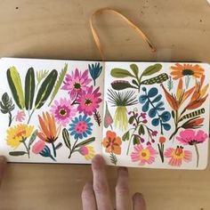 Little sketchbook is almost full. I use different sizes and have multiple sketchbooks going at the same time. Sketchbook Inspiration, Painting Inspiration, Art Inspo, Gouache Painting, Painting & Drawing, Watercolor Paintings, Floral Illustrations, Illustration Art, Posca Art