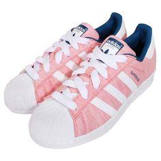 Adidas Originals Superstar W Pink Blue Casual Sneakers B35796  $175.00