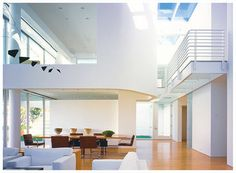 Richard Meier interior design by luxury appartments, via Flickr