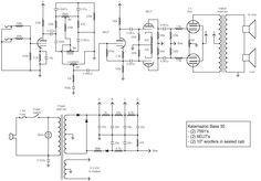 fender  u0026quot super u0026quot  bassman tube amp schematic